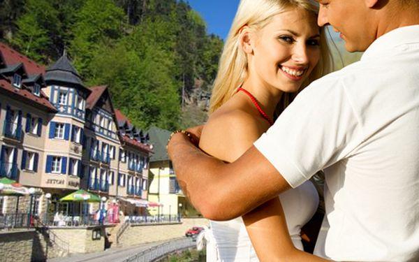 Léto plné romantiky v Českém Švýcarsku pro DVA na 3 dny