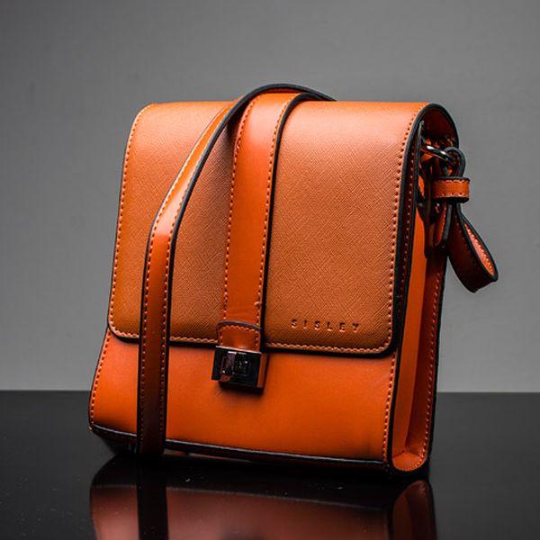 Menší oranžová kabelka Arwen