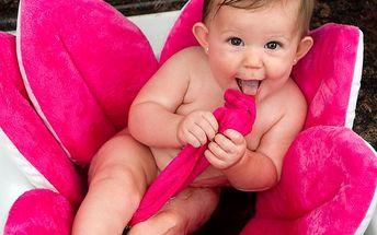 Květinová koupel růžová