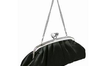 Dámská společenská kabelka Famito 1731 černá