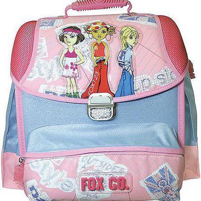 Školní aktovka Hobby Cool fox co. Girls