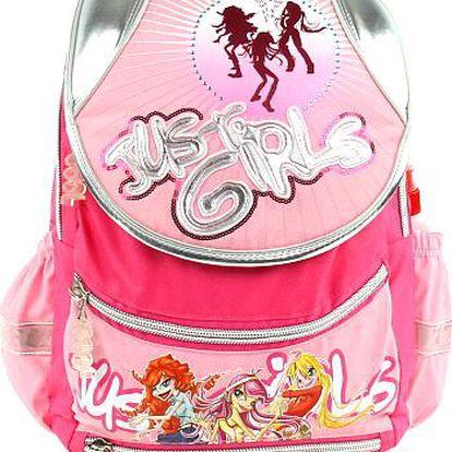 Školní batoh Cool Just Pink