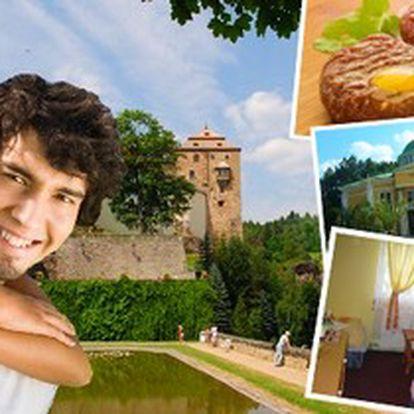 3denní POBYT pro 2 OSOBY se snídaní a TATARÁKEM v penzionu BOBEŠ v CHKO Slavkovský les.