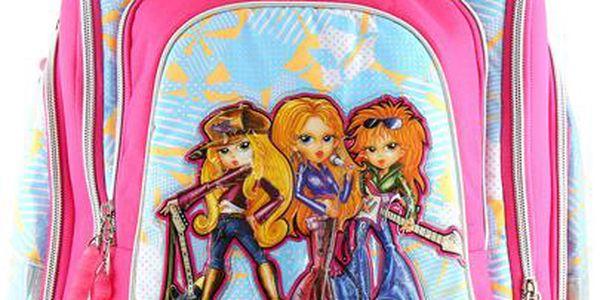 Školní batoh Cherry Cool RockBabe Triple