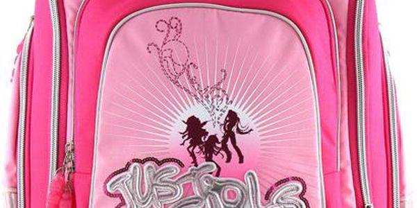 Školní batoh Cherry Cool RockBabe Just Pink