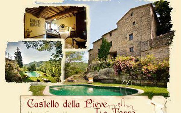 6 dní ve starověkém sídle v Itálii za 10238 Kč pro DVA! Nádherné Castello della Pieve-La Torre!