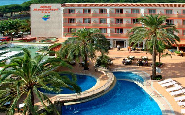 Španělsko, 8 dní s polopenzí v termínu 7.9. - 14.9. Rušný noční život a krásné pláže v letovisku Malgrat de Mar.