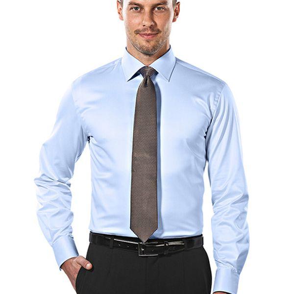 Slim-fit světle modrá košile Samuel