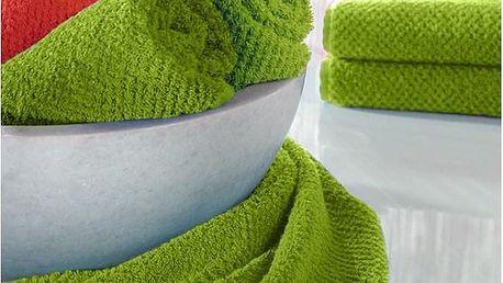 Ručník s.Oliver zelený, 50x100 cm