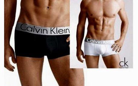 4 ks boxerek Calvin Klein! Barevné variace.