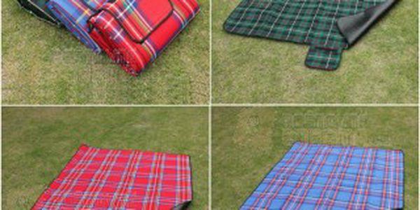 Deka na piknik s nepromokavou spodní vrstvou - 3 barvy a poštovné ZDARMA! - 9504548
