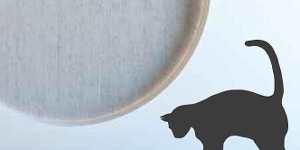 Samolepka Kočky a myš - hodí se na všechny povrchy, jako je sklo, nábytek i zdi