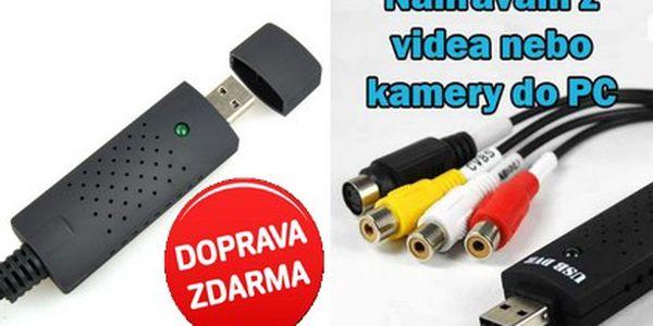 Jen 229 Kč za EasyCap video grabber. Máte doma videokazety nebo analogovou kameru a rádi byste své nahrávky převedli do digitální podoby počítače? Snadná pomoc s 43% slevou a DOPRAVOU ZDARMA!
