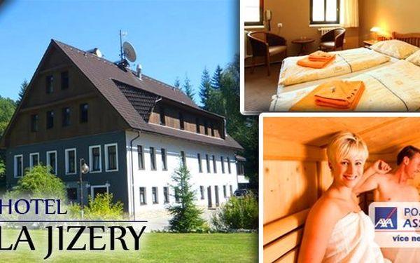 Babí léto v Jizerských horách -Pobyt v nově zrekonstruovaném hotelu Perla Jizery na tři až osm dní s All Inclusive – snídaně, obědy, večeře, neomezená konzumace nápojů, návštěva sauny, káva nebo čaj. Vše se slevou až 53%!!!