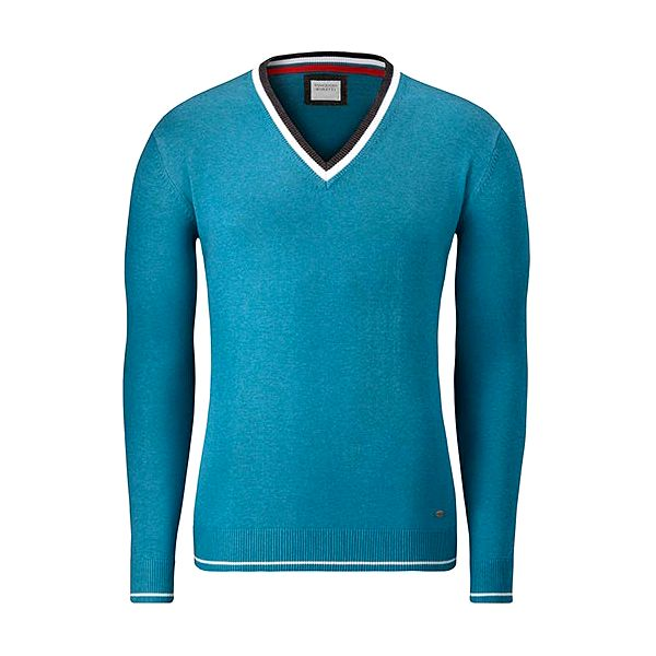 Tyrkysový svetr