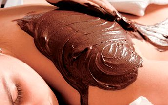 60 minutová čokoládová masáž celého těla za skvělých 399 Kč!