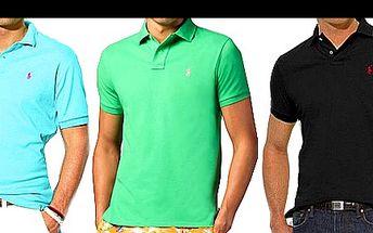 POLOKOŠILE světoznámé značky RALPH LAUREN pro opravdové muže jen za 979 Kč včetně poštovného! Investujte do vysoce kvalitního oblečení proslulého svěží elegancí a živými odstíny.