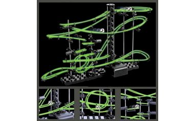 Úžasná hračka - svítící stavebnice SPACERAIL level 2 jen za 319 Kč! Vhodné pro začátečníky, děti i dospělé. Skvělá zábava pro celou rodinu.