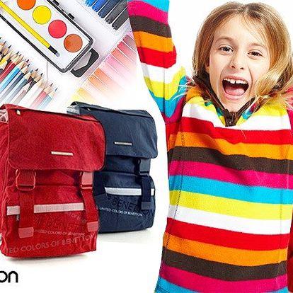 Prvotřídní batoh Benetton v 6 barevných provedeních