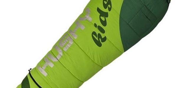 Odolný spacák pro děti Husky Kids Magic -12°C zelená