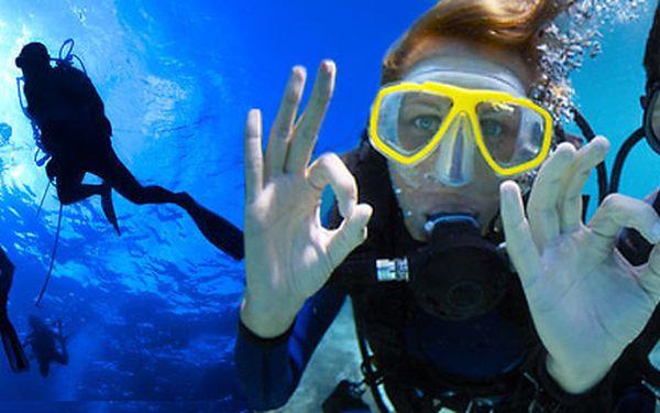 Dvoudenní outdoorový pobyt s potápěním