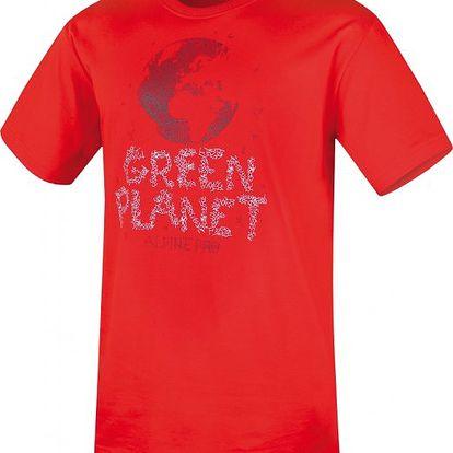 Pánské pohodlné tričko Alpine Pro Livio oranžová