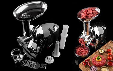 Multifunkční elektrický mlýnek na maso O-Beko