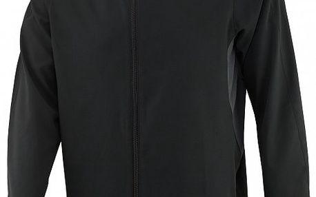 Větruodolná pánská běžecká bunda Reebok Ser Wind Jacket Black/Gravel
