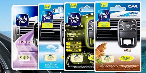 Osvěžovače vzduchu do auta Ambi Pur Car