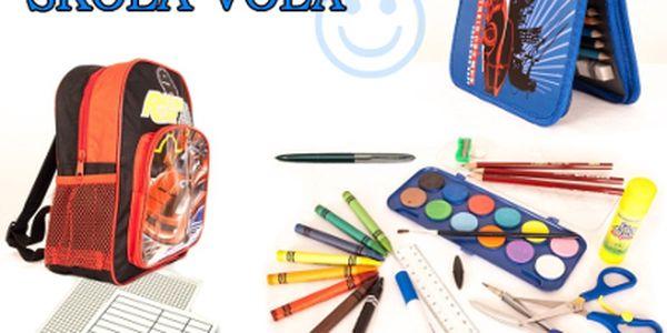 Školní batůžek včetně výbavy od 349 Kč!