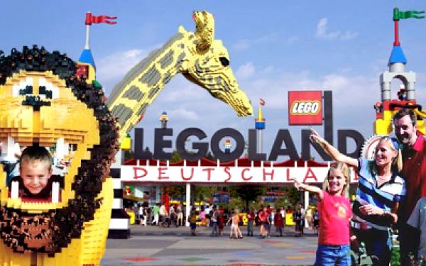 Jednodenní zájezd do Legolandu za kouzelných 1390 Kč! VČETNĚ VSTUPENKY, DOPRAVY a PRŮVODCE! Pojďte s námi 14.9.2013 do světa, který si tvoříte Vy sami! Sen každého dítěte je nyní se slevou 42%!