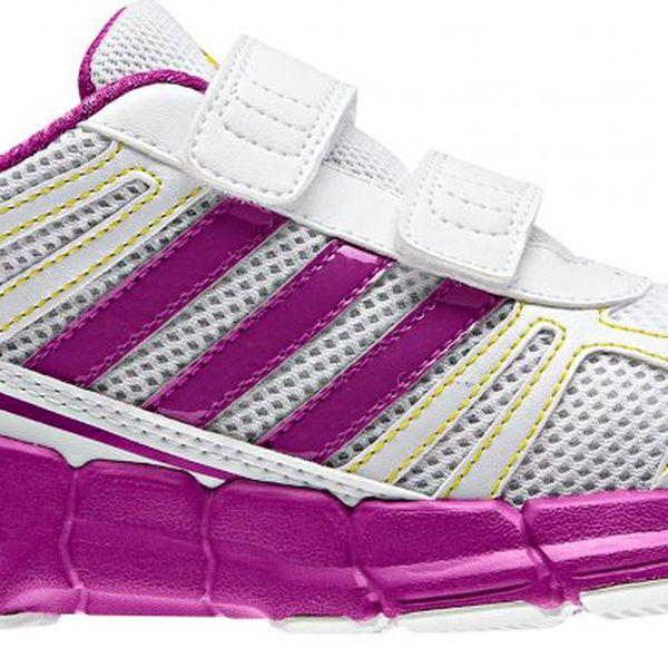 Dívčí sportovní obuv Adidas AdiFast CF K White/Vivid