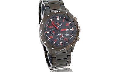 Pánské sportovní hodinky s kalendářem Curren - 2 barvy a poštovné ZDARMA! - 240