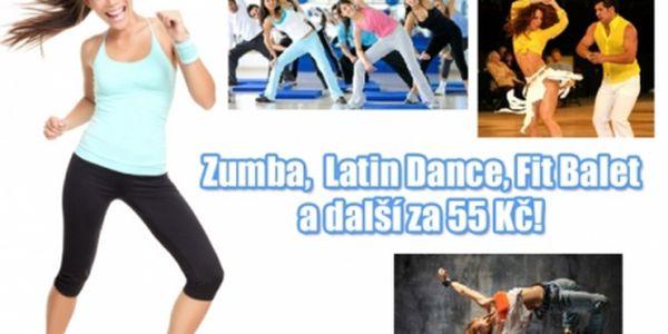 ZUMBA, Latin Mix Dance, Body Styling, Fit Balet a další cvičení v ENERGY Fitness studiu!