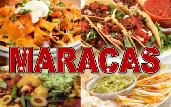 Veškeré MEXICKÉ speciality v restauraci MARACAS! 50% sleva na jídla z celého menu v pravé latinskoamerické restauraci!!! Ochutnejte světoznámou mexickou kuchyni a další speciality z Kolumbie, Venezuely a Kuby!!!