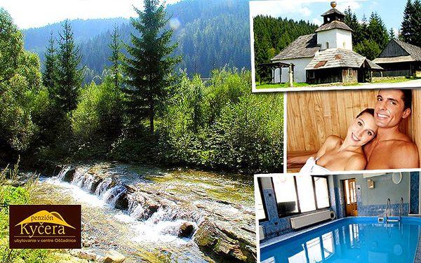 3 nebo 4 dny v penzionu Kyčera v obci Oščadnice na Slovensku