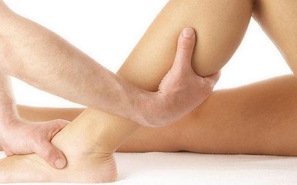 Masáž nohou včetně chodidel v délce 60 minut