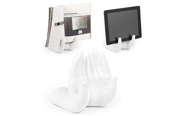 Stojan ruce pro pohodlné odložení tabletu nebo novin