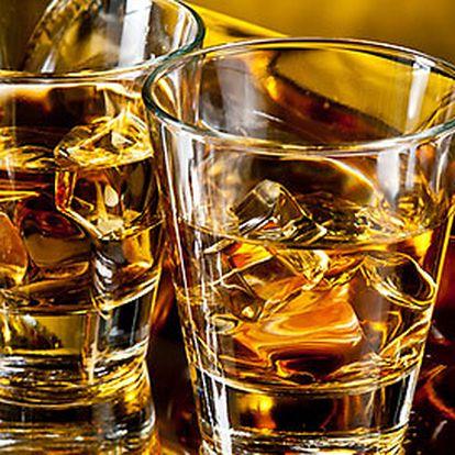 Ochutnávka 6 panáků vynikající skotské whisky