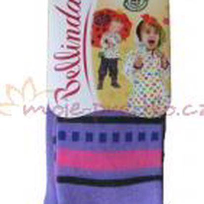 Dětské punčocháčky Bellinda 496667 Fialové