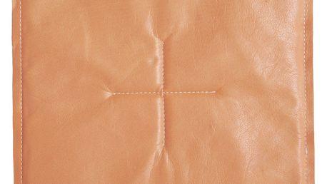 Kožený sedák Soft ze 100% jemné hovězí prošité kůže