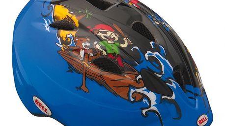 Dětská přilba Bell Tater Black/Blue Pirate S (51-56 cm)