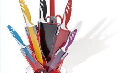 Sada kvalitních švýcarských nožů se stojánkem - Royalty Line