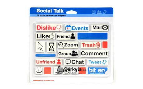 Sociální magnety jako Facebook