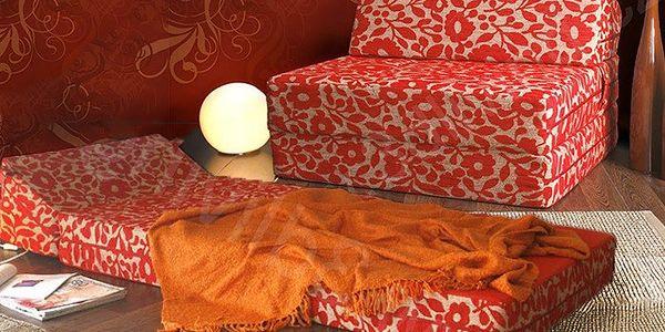Pohodlné křeslo a matrace 2 v 1 do každé domácnosti