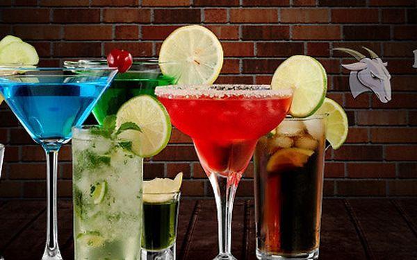 Míchané drinky v novém baru pro 2-4 osoby