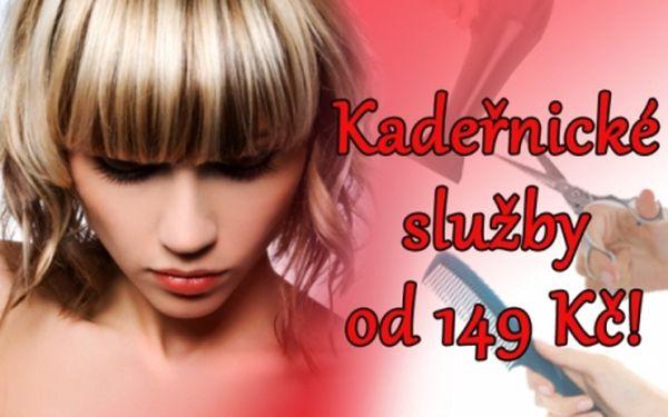 Špičkové kadeřnické služby ve stylovém salónu na Náměstí Míru! Střih za 149 Kč na všechny délky vlasů, melír od 149 Kč, barvení od 169 Kč!
