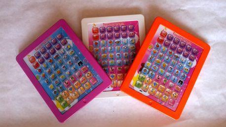 Detský tablet pre pokročilých angličtinárov len za 10.88 eur! Tri farebné prevedenia!