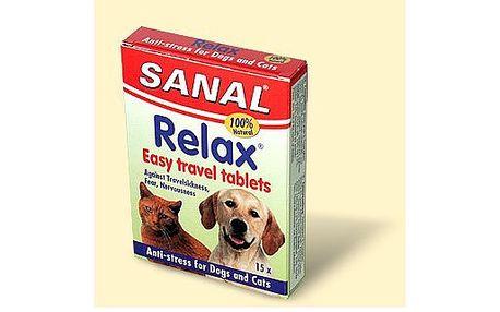 Tablety proti stresu, Sanal Relax, 15 tbl