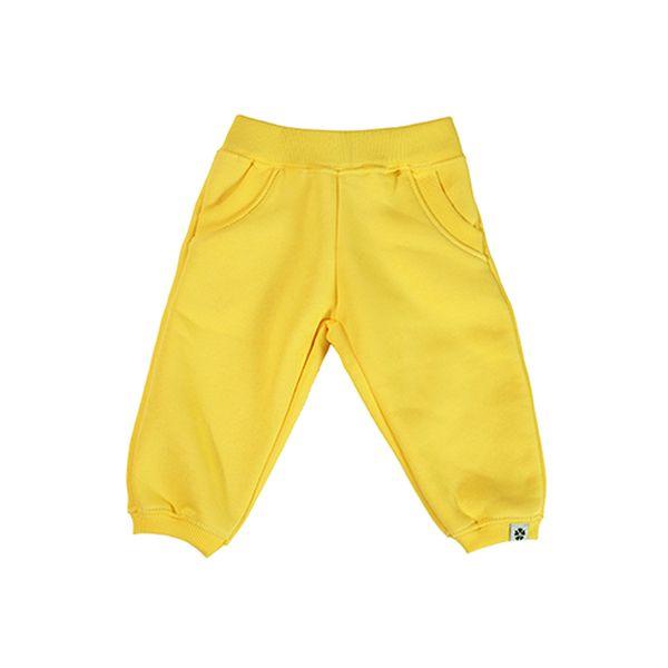 Žluté tepláky - velmi příjemné na kůži.